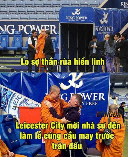 """Anh che: Leicester moi su em bua """"than rua""""; CDV Quy Do xin """"Thanh"""" Bendtner ru long thuong - Anh 3"""
