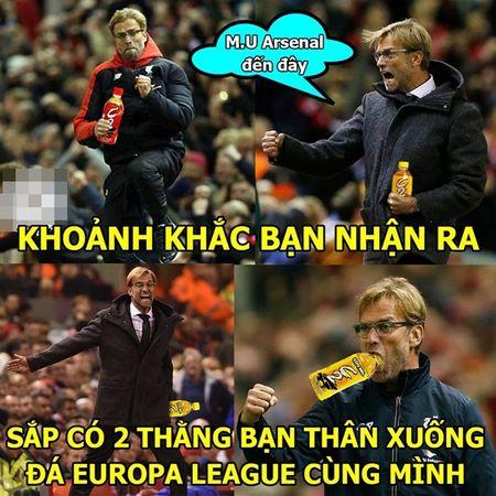 """Anh che: Leicester moi su em bua """"than rua""""; CDV Quy Do xin """"Thanh"""" Bendtner ru long thuong - Anh 8"""