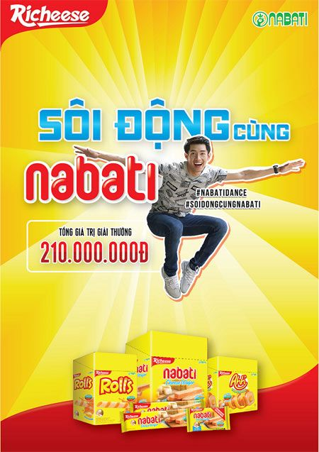 Bung no dam me, thu thach buoc nhay cung Richese Nabati. - Anh 5