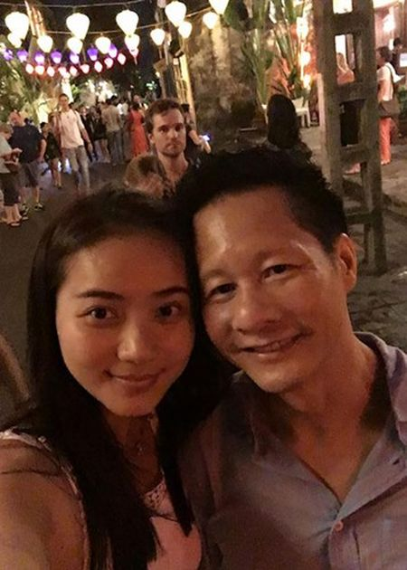 Phan Nhu Thao va chong dai gia tinh tu di du lich - Anh 3