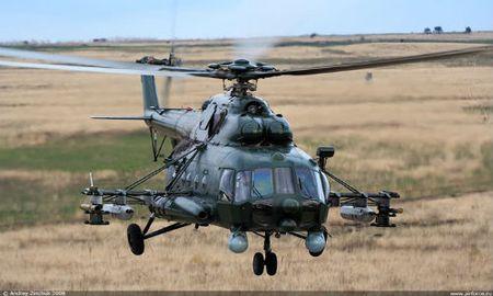 Truc thang Mi-8 roi tai Nga, it nhat 8 nguoi thiet mang - Anh 1