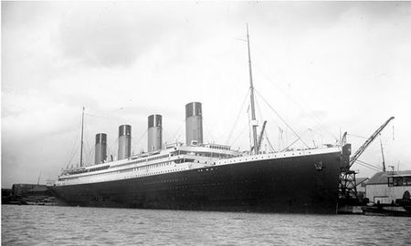 Anh chua tiet lo ve qua trinh dong tau Titanic huyen thoai - Anh 10