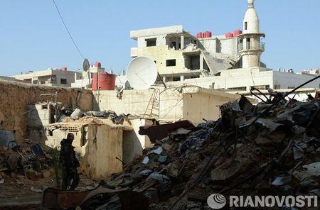Cuoc song cua binh sy Syria cam chot o vung Dahane - Anh 1