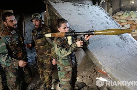 Cuoc song cua binh sy Syria cam chot o vung Dahane - Anh 7