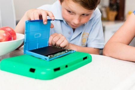 XO-Infinity: Laptop 2 trong 1 bien hinh cho tre em - Anh 4