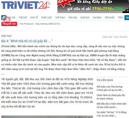 Dai bieu Quoc hoi: Trang tin dien tu nhu mot loai 'di dang, di hom' - Anh 1