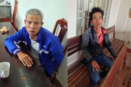 Quang Nam: Phat hien 2 nguoi dan ong van chuyen luong lon chat doc - Anh 1
