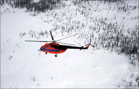 Nga: Truc thang Mi-8 roi, 15 nguoi chet - Anh 1