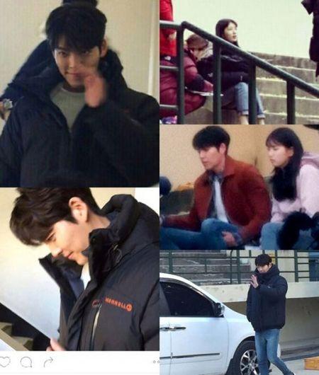 Kim Woo Bin goi dau len dui Suzy tren phim truong - Anh 1