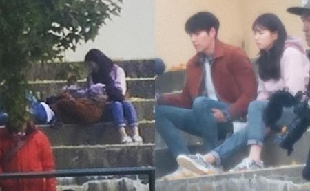 Kim Woo Bin goi dau len dui Suzy tren phim truong - Anh 2