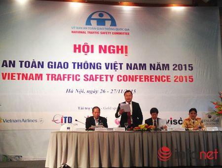 Khai mac Hoi nghi An toan giao thong Viet Nam 2015 - Anh 1