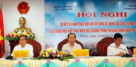Thuc hien hieu qua cac chuong trinh tin dung chinh sach de phat trien kinh te-xa hoi vung Tay Nguyen - Anh 1