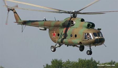 Truc thang Mi-8 roi tai Nga, 25 nguoi thuong vong - Anh 1