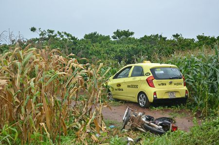 Thai phu gan sinh bi taxi dam tu vong - Anh 2