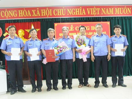 Cong bo Quyet dinh thanh lap Dang uy VKSND cap cao 2 - Anh 1