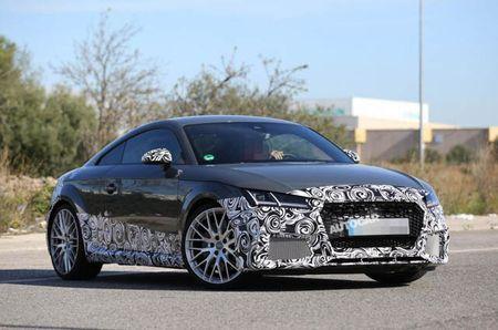Audi thu nghiem TT RS 2017 - Anh 1
