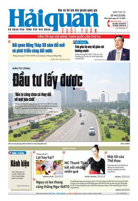 Nhung tin, bai hap dan tren Bao Hai quan so 143 phat hanh ngay 29-11 - Anh 1