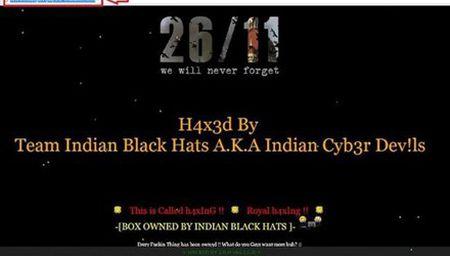Hang loat trang web cua chinh phu Pakistan bi tan cong - Anh 1