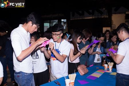 Hon 1.500 ban tre tham gia dem hoi nghe thuat 'Hanh dong vi khi hau' - Anh 9