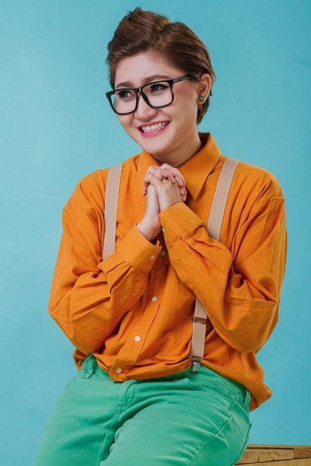 Vicky Nhung doi ngay ra mat single vi Dam Vinh Hung - Anh 11