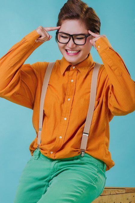 Vicky Nhung doi ngay ra mat single vi Dam Vinh Hung - Anh 12