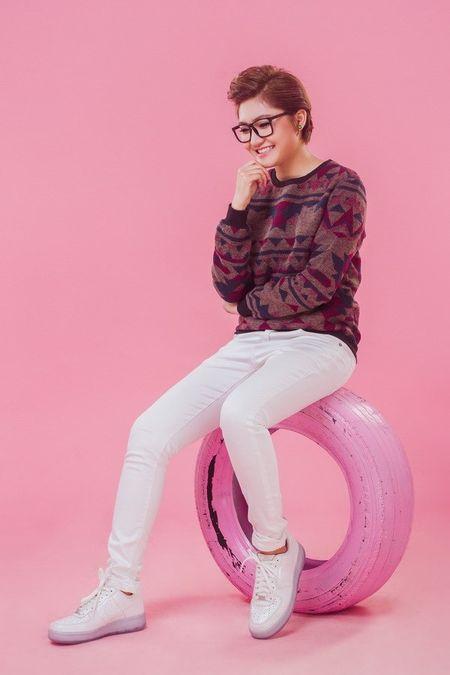Vicky Nhung doi ngay ra mat single vi Dam Vinh Hung - Anh 13