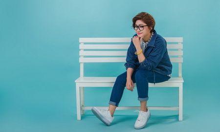 Vicky Nhung doi ngay ra mat single vi Dam Vinh Hung - Anh 1