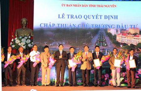 Thai Nguyen: Them nhieu du an dau tu phat trien kinh te, xa hoi - Anh 1