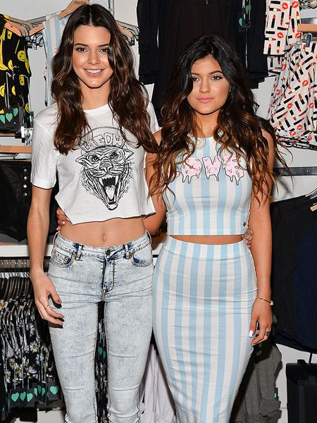 "Hoc tap gu thoi trang ""chat lu"" cua cap chi em Kendall - Kylie Jenner - Anh 7"