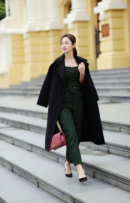 Jennifer Pham tinh te voi thoi trang mua dong - Anh 11