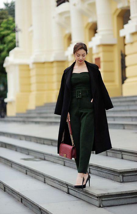 Jennifer Pham tinh te voi thoi trang mua dong - Anh 12