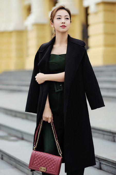 Jennifer Pham tinh te voi thoi trang mua dong - Anh 13