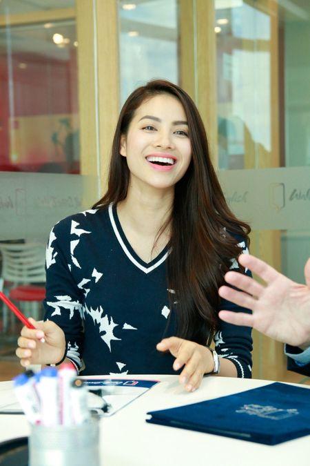 HH Pham Huong san sang du thi Hoa hau Hoan vu 2015 tai My - Anh 5