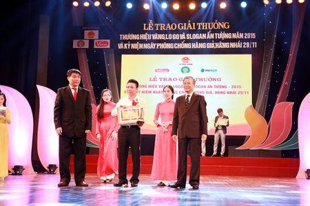 BID Viet Nam dat giai Thuong hieu Vang - Logo va Slogan an tuong 2015 - Anh 1
