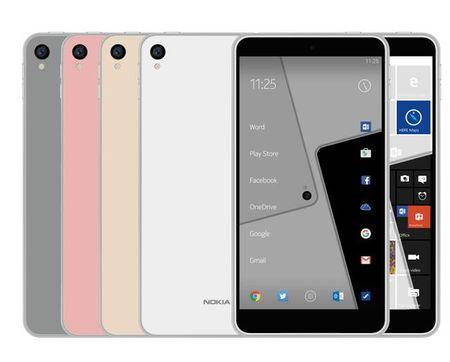 Ro ri smartphone chay Android va Windows 10 Mobile cua Nokia - Anh 1