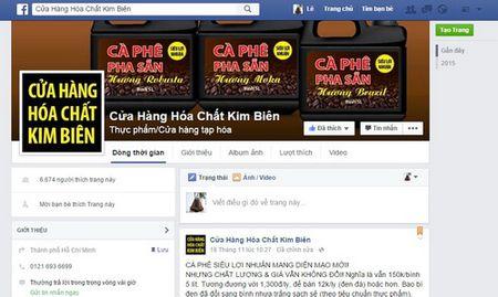 Thong tin moi vu 'rao ban ca phe ban tren Facebook' - Anh 1