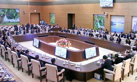 Lien doan cac nha bao ASEAN tiep kien Chu tich Quoc hoi Nguyen Sinh Hung - Anh 1