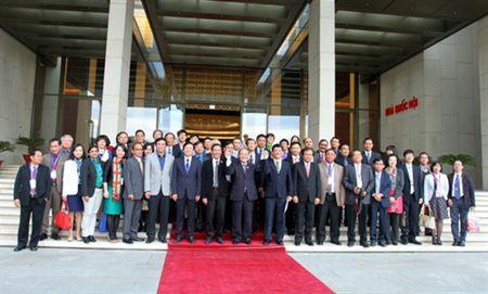 Lien doan cac nha bao ASEAN tiep kien Chu tich Quoc hoi Nguyen Sinh Hung - Anh 3