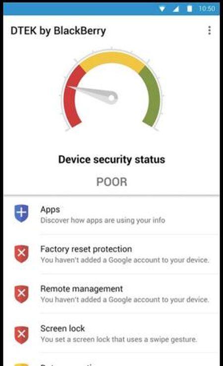 Ung dung an ninh DTEK cua BlackBerry Priv nhan ban cap nhat - Anh 2