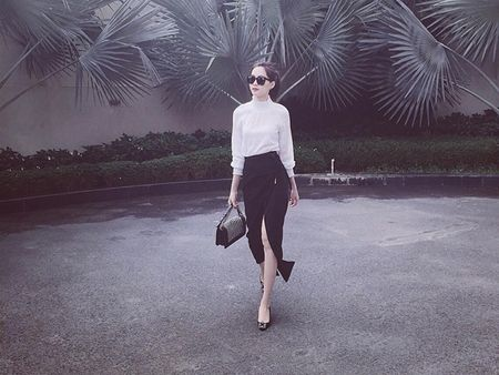 """My nhan Viet """"thap sang"""" street style ngay dong - Anh 10"""
