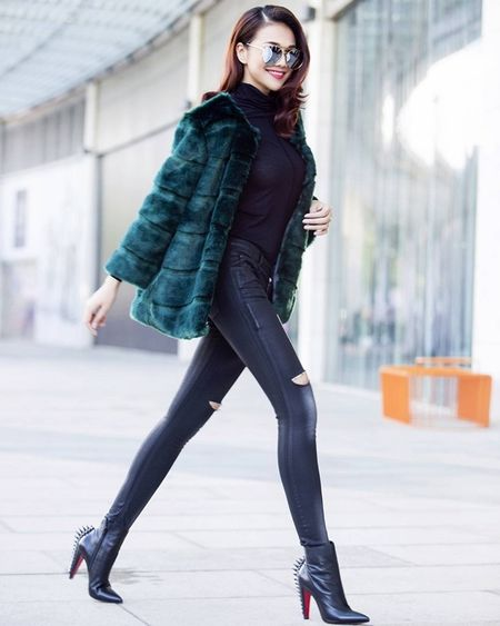 """My nhan Viet """"thap sang"""" street style ngay dong - Anh 1"""