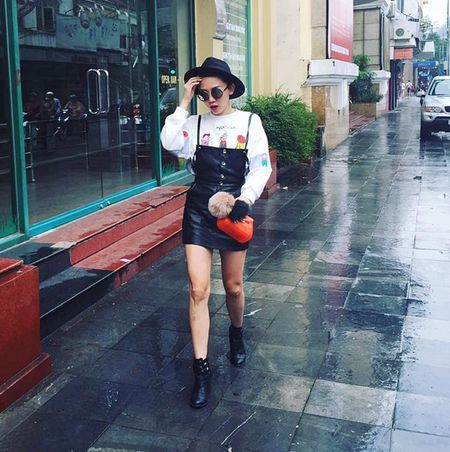 """My nhan Viet """"thap sang"""" street style ngay dong - Anh 7"""