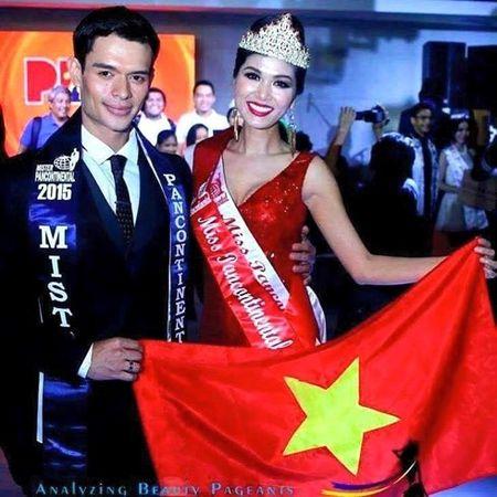 """Di """"thi chui"""", tan Hoa hau Toan cau Oanh Yen khong co tien nop phat - Anh 1"""