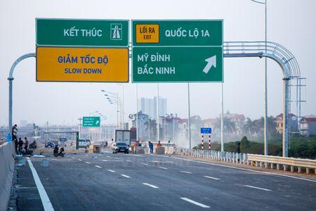 Can canh cao toc Ha Noi - Hai Phong truoc ngay thong xe toan tuyen - Anh 20