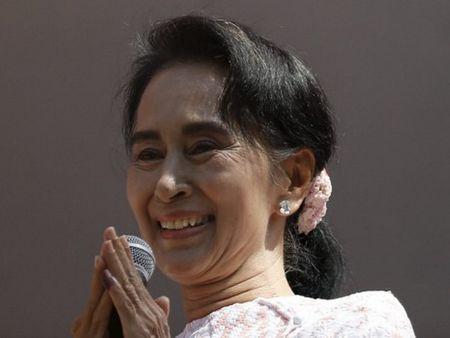 Myanmar: Thu linh doi lap Suu Kyi gap Tong thong Thein Sein - Anh 1