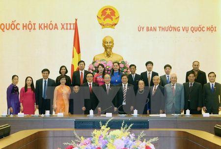 Chu tich Quoc hoi tiep dai bieu Quoc hoi Tuyen Quang cac thoi ky - Anh 1
