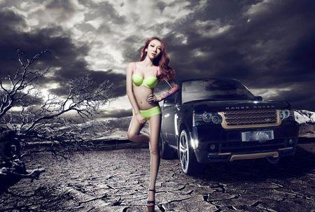 "Vong 3 sexy ""thach thuc"" xe sang - Anh 2"