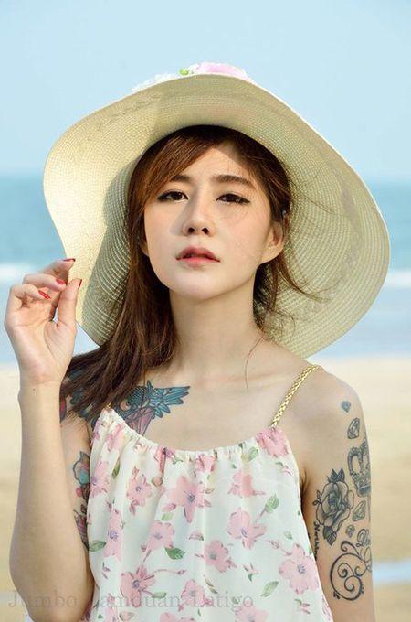 """Hot girl xam tro gay """"bao"""" vi ve dep diu hien - Anh 1"""