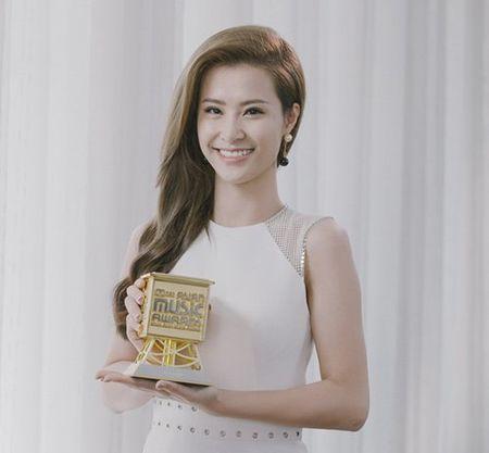 Dong Nhi nhan giai Nghe sy Chau A xuat sac tai MAMA 2015 - Anh 1