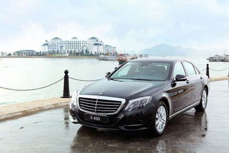 Cap doi Mercedes S-Class cap ben Vinpearl Ha Long Bay - Anh 2